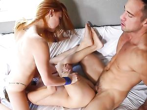 Fucking A Pair Of Gorgeous Teens Makes His Cock Cum