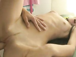 Sex On The Dinner Table With His Teenage GF