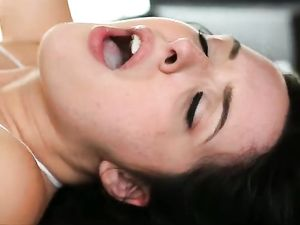 Bend Over A Teenage Cocksucker And Pound Her Pussy