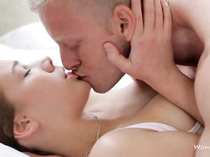 Tender Missionary Sex With A Beautiful Brunette