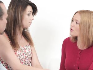 Tasty MILF Leads Her Daughter Through Fucking