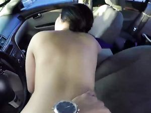 Back Of The Car Fucking With A Curvy Latina Teen