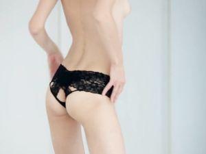 Teen Sucking Dick In Sexy Black Panties