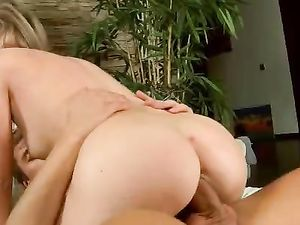 Sheer White Tights On A Teen Arouse Him For Hot Sex