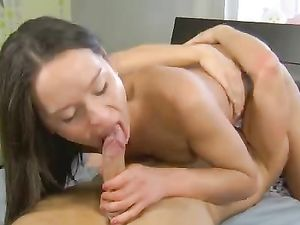 Young Wet Cunt Opens For His Thrusting Cock