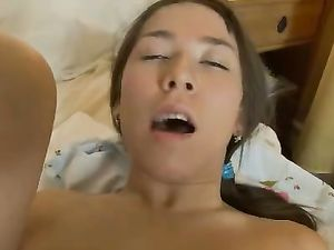 Orgasms For A Pigtailed Teen In Love With Toys