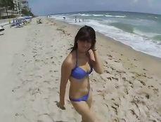 Nice Beach Body On A College Girl Fucking In His Condo
