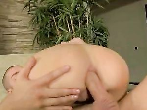 Round Teen Ass Rides Cock And She Sucks It Clean