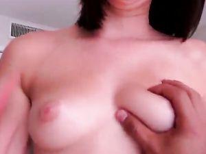 Curvy Booty Amateur Cutie Rides Cock In POV