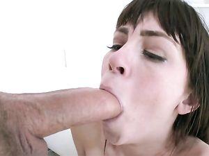 Drilling Skinny Hannah Hartman With His Big Cock