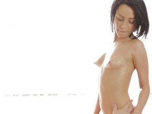 Perfect Petite Body On A Lovemaking Beauty