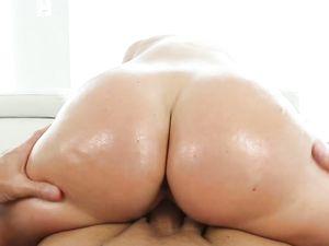 Amazing Ass Teen In Pink Panties Fucks An Older Guy