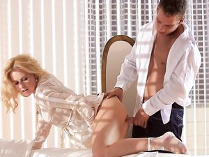 Erotic Doggystyle Lovemaking With The Curly Hair Girl