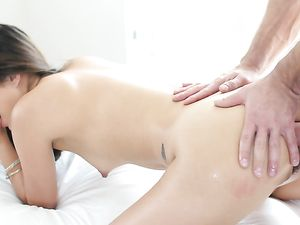 Oiling Mila Jade And Fucking Her Beautiful Asshole