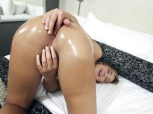 Oiled Big Boobs Are Beautiful In Her Hotel Room Fuck Scene
